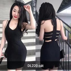 Đầm body hở lưng mới
