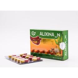 Alixina-N, Hỗ trợ điều hòa huyết áp, giảm cholesterol máu