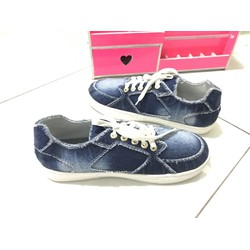 Giày bata đế xuồng nữ