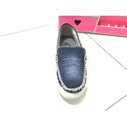 Giày mọi nữ vải jean