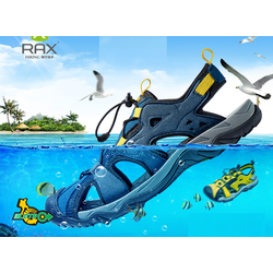 Giày sandal bít mũi RAX đi biển thể thao