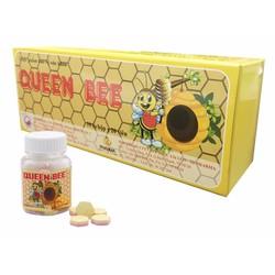 Hộp 10 lọ Queen Bee - Viên ngậm sữa ong chúa