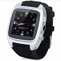 Đồng hồ thông minh gắn sim, 3G độc lập Android watch Bạc