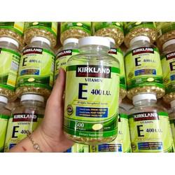 viên uống đẹp da Kirkland Signature Vitamin E 400 I.U mỹ