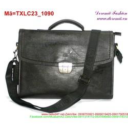 Túi xách laptop phối khóa gài thiết kế lịch lãm TXLC23
