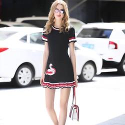 Đầm len dệt kim siêu xinh - hàng nhập cao cấp