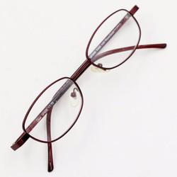 Gọng kính cận màu đỏ bordeaux MS07530