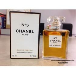 Nươc hoa nữ Chanel No 5  50ML của pháp