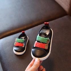 Giày tập đi dễ thương cho bé - Đen