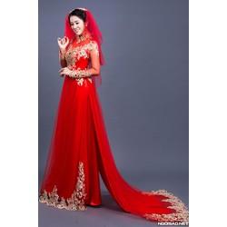 may áo dài cưới giá rẻ