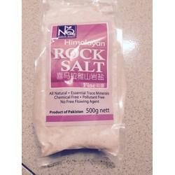 Muối hồng Himalayatự nhiên