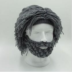 Mũ nón len tóc xù