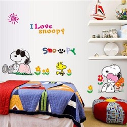 Decal Chó Snoopy