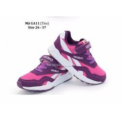 Giày Thể Thao Bé Gái Cao Cấp 3 - 12 Tuổi GA11