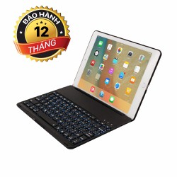 Bàn phím Bluetooth dùng cho iPad Air 2 kiêm giá đỡ sang trọng Keyboard
