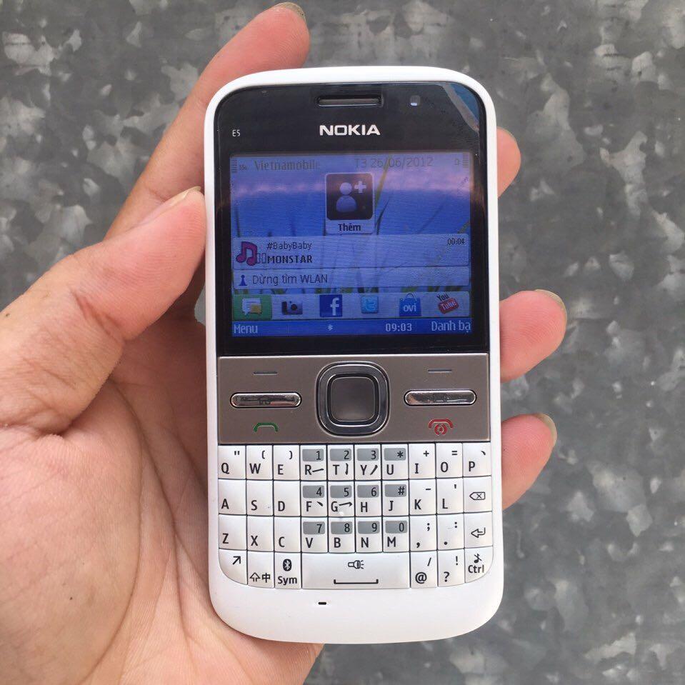 Nokia  E5-00 trắng chính hãng 6517376