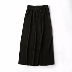 Chân váy dài màu rêu