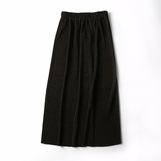 Chân váy dài màu rêu - S10 thumbnail