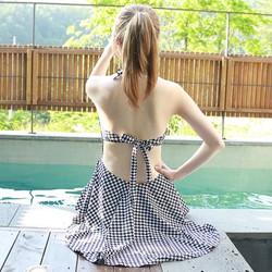 Váy đi biển thắt nơ quần rời xinh xắn