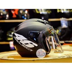 Mũ bảo hiểm Moto Napoli N039 tem số 46
