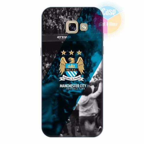 Ốp lưng Samsung Galaxy A5 2017 in hình CLB Manchester City
