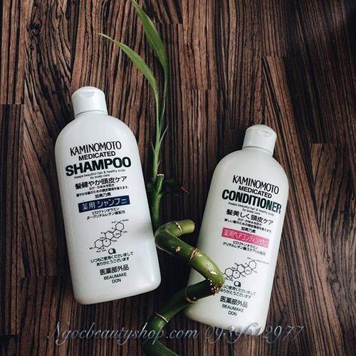 Bộ đôi dầu gội dầu xả kích thích mọc tóc Kaminomoto Medicated - 11024284 , 6227600 , 15_6227600 , 230000 , Bo-doi-dau-goi-dau-xa-kich-thich-moc-toc-Kaminomoto-Medicated-15_6227600 , sendo.vn , Bộ đôi dầu gội dầu xả kích thích mọc tóc Kaminomoto Medicated