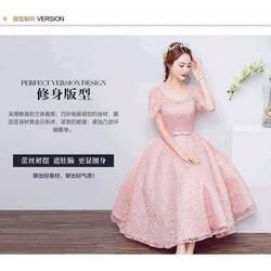 Đầm xoè ren công chúa - A30863