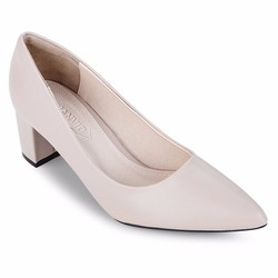 Giày cao gót bít mũi JANVID sang trọng, quý phái, trẻ trung