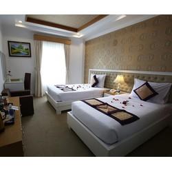 Khách sạn Nesta Cần Thơ  4 sao 2N1Đ  Phòng Deluxe River View dành cho 02 khách