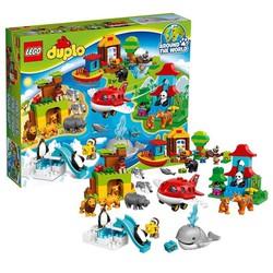 Đồ chơi xếp hình Lego Duplo 10805 - Vòng Quanh Thế Giới-ORDER