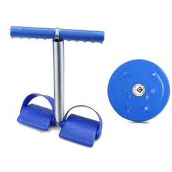Bộ dụng cụ tập thể dục đa năng và đĩa xoay eo giảm cân 360 độ