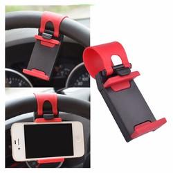 Kẹp điện thoại trên vô lăng ô tô, xe hơi