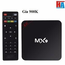 android tv box  MX9 4K