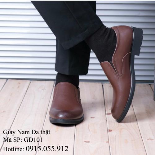 Giày Nam da bò - Sang trọng, lịch lãm