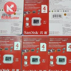 Thẻ nhớ Sandisk SDHC 4GB