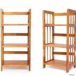 Kệ sách gỗ cao su giá rẻ