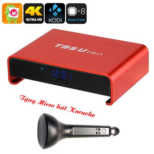 Tivi Box T95U PRO Ram 2GB - Rom 16GB CPU 8 Nhân