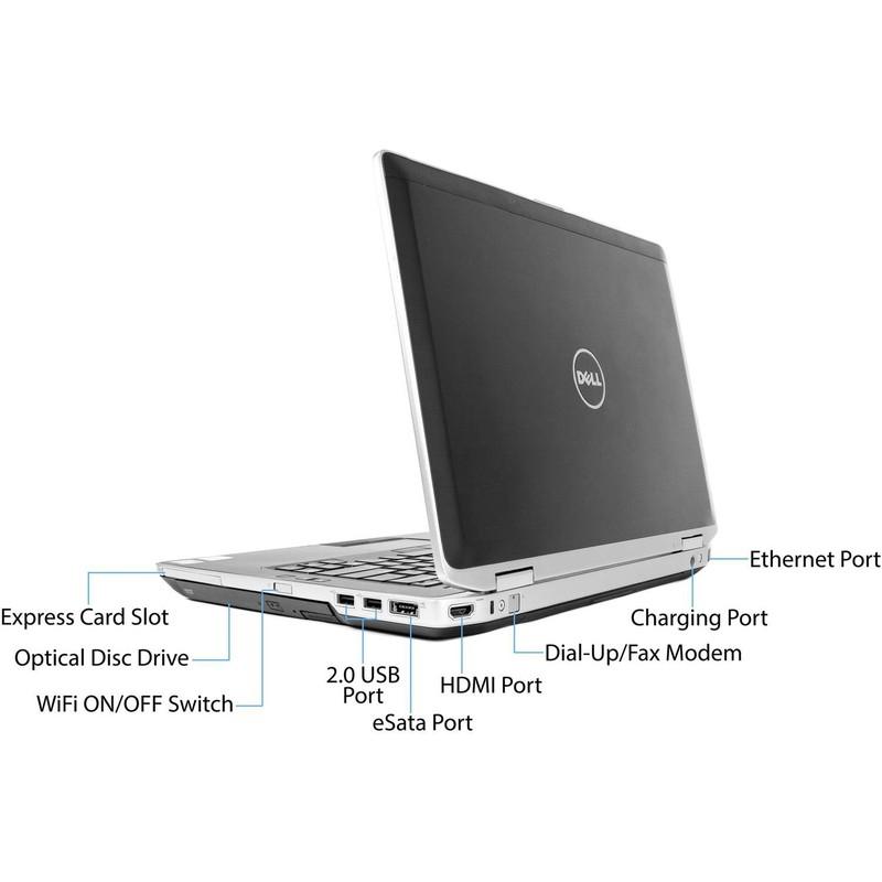 Laptop Dell E6420 i5 2.5Ghz 4G 250G 14in Văn phòng Web 1