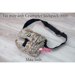 Túi máy ảnhCrumpler Jackpack 3000 màu lính