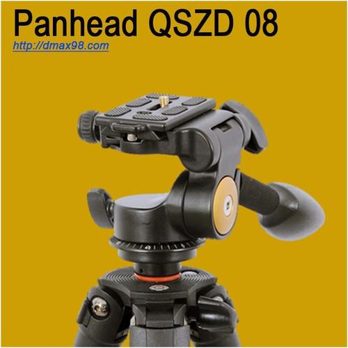 Tay quay Panhead Q08s quay phim chụp ảnh cho tripod, monopod