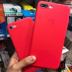 Ốp Dẻo Đỏ Apple IP 5, 6, 6+, 7, 7+