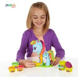 Bộ Đất nặn Play-Toy trang trí ngựa Pony xinh xắn - my little pony