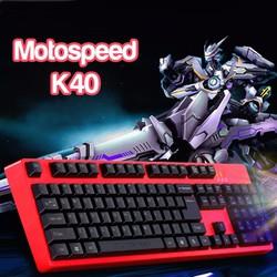 Bàn phím game thủ Motospeed K40 Gaming Keyboard RED