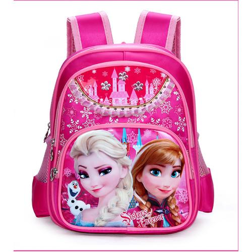 Balo đi học công chúa Elsa 3 ngăn size lớn cho bé KDR-BL023