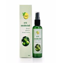 Xịt tóc dinh dưỡng vỏ bưởi Greenbon