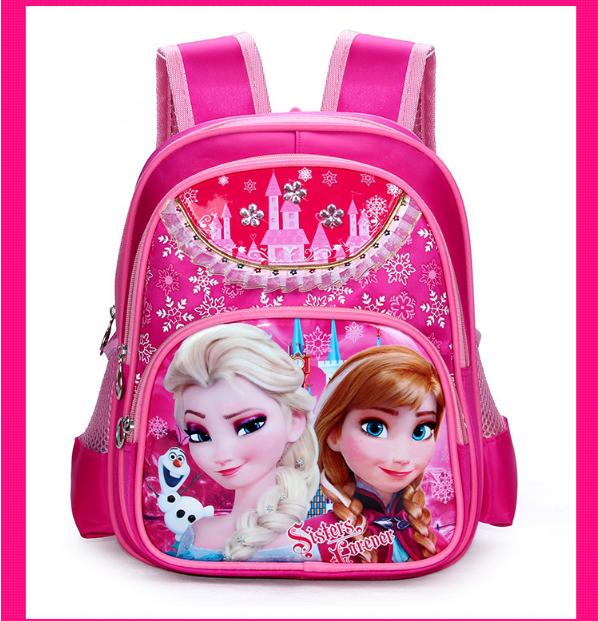 Balô đi học FROZEN công chứa Elsa đáng yêu cho bé gái QSTORE QS62 2
