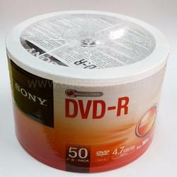 DVD trắng SONY CHÍNH HÃNG lốc 50 đĩa - LOẠI TỐT