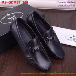Giày mọi da nam thiết kế trẻ trung sành điệu GDM57