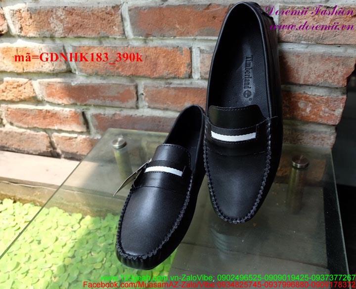 Giày mọi da nam công sở mẫu mới sành điệu sang trọng GDNHK183 1