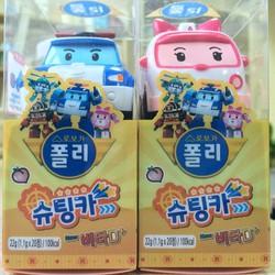 Kẹo Vitamin D xe hơi đồ chơi cho bé từ 3-4 tháng tuổi